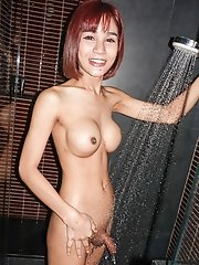 Ladyboy Benty - Ass Licking Cum Swallow Bareback