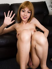 Rin is a beautiful 18 years old ladyboy from Bangkok. She studies at university at the moment and didn't want to share her contact info. She is