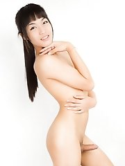 19 year old June is from Bangkok. Always smiling, always happy, great attitude, a lot of energy, extremely passable even without make up, flawless ski